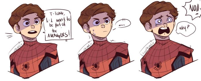 Peter's face by DogPaw8