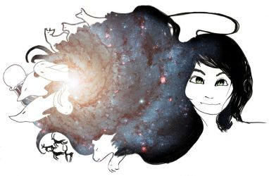 The galaxy in my mind by PixAnna