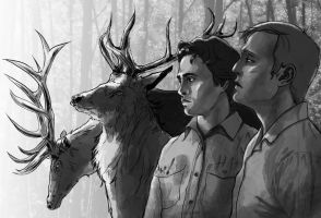 Hannibal: Out of the woods by Devilissh