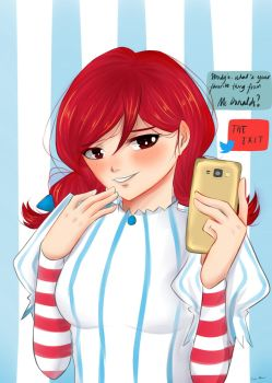 Smug Wendy's by kawaiineko-kona
