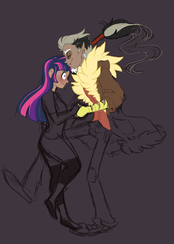 Human Twicord WIP by Lopoddity