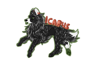 Icarus badge by TheCaptainCrossy