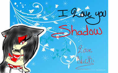I Love You Shadow by RosaReinaLove100