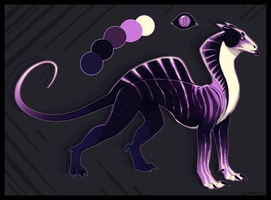 CLOSED. Cobra Dog Auction [species test] (1) by Soulsplosion