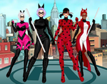 Team Miraculous by SentinelSpockNimoy