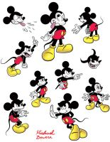 Mickey Mouse 2 by michael-bowers