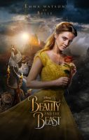 Beauty and The Beast Poster by shathit