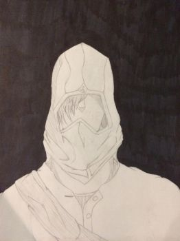 Hooded Figure by TheCatalyst08