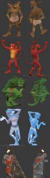New and improved 3D Meens (+download) by Ramul