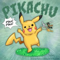Pikachu by SuperEdco