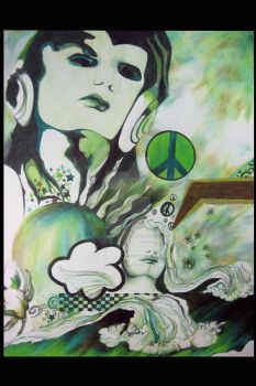 green peace by crazyartchick