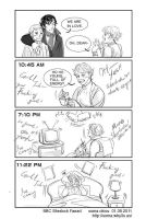 Poor Mrs. Hudson by somachiou