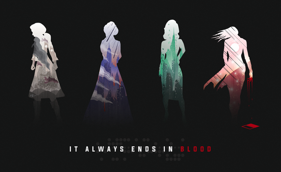 It Always Ends in Blood - AfterShock Update by NCCreations