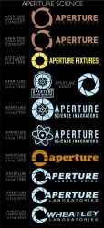 Aperture Logos by Zeptozephyr