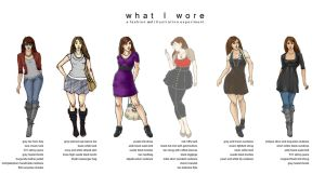 .What I Wore Collection. by Lii-chan