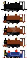 Mid Sodor RR: Alex's timeline by mrbill6ishere