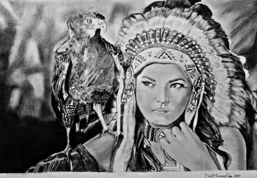 Beautiful Indian drawing by mohit kumar rao artist by mohitkumarrao