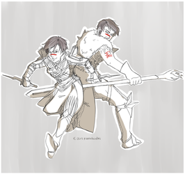 Dragon Age 30Day Challenge 2013 - Day 1 by kamidoodles