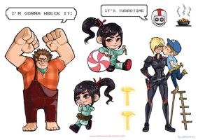wreck it ralph by weiliwonka