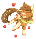 Commmission: Sandy Apples by Foxhatart
