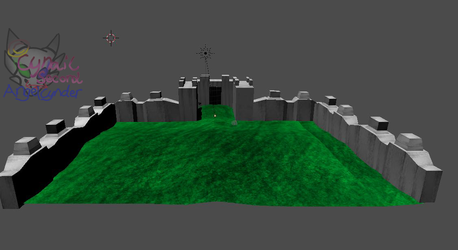 Screen shot of AngelCnder castle by AngelCnderDream14