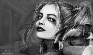 Harley Quinn by glimpen