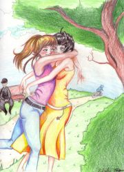 Park Embrace by 0TashArt0