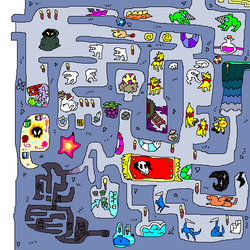 SUPER MONSTER, MAP 1 by tech-impaired-anubis