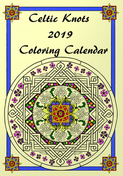 2019 Celtic Knot Colouring Calendar by LorraineKelly