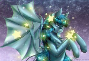 MLP OC |StarShire | AT w/ BlazingCookie/Speedpaint by xKittyblue