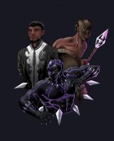 T'Challa by IVLOCK