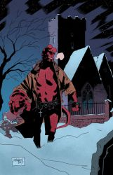 Hellboy again by GlebTheZombie