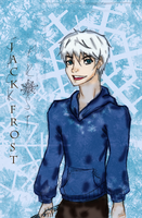Jack Frost Sketch and Digital by SkyLangitCielCielo