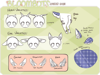 Bloombots Species Guide by pikaxiu