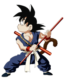 Dragonball Goku Color by RuokDbz98