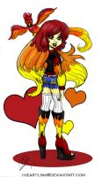 Monster High: OC Blaze by I-heart-Link