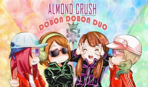 Almond Crush X Dobon Dobon Duo by OtakumiArt