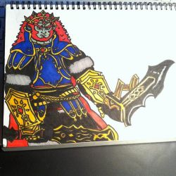 Demon King Ganondorf by ForestKitty22