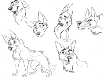 Stray Heads by Stray-Sketches