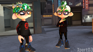 Inktoling or Octoling? by Xpert03