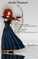 {MMD DOWNLOAD} Merida by MariCorsair