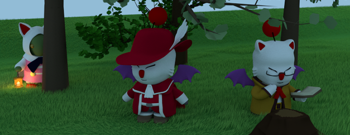 Moogle Banner by SiverCat