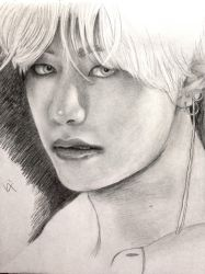 BTS Bangtan Boys Taehyung by Vixtronic