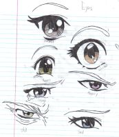 Anime Eyes by crazy-anime-chick