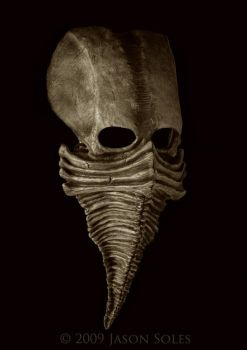 Excarnate mask by MrSoles