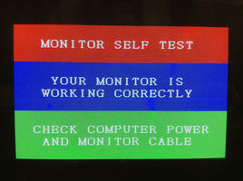 Monitor Self Test [EPILEPSY WARNING] by MegaBunneh