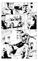 Green Hornet page Sample 1 by A-Muriel
