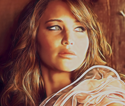 Jennifer Lawrence by fantasiastudio