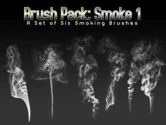 Smoke Brushes - Six by PerpetualStudios