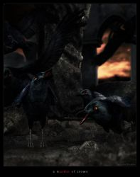 a murder of crows by zilla774
